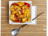 Sweet and Sour Cauliflower with Pineapple