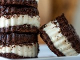 Brownie Ice Cream Sandwiches