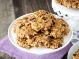 Virtual Vegan Potluck: Oatmeal Cherry Chocolate Chip Cookies