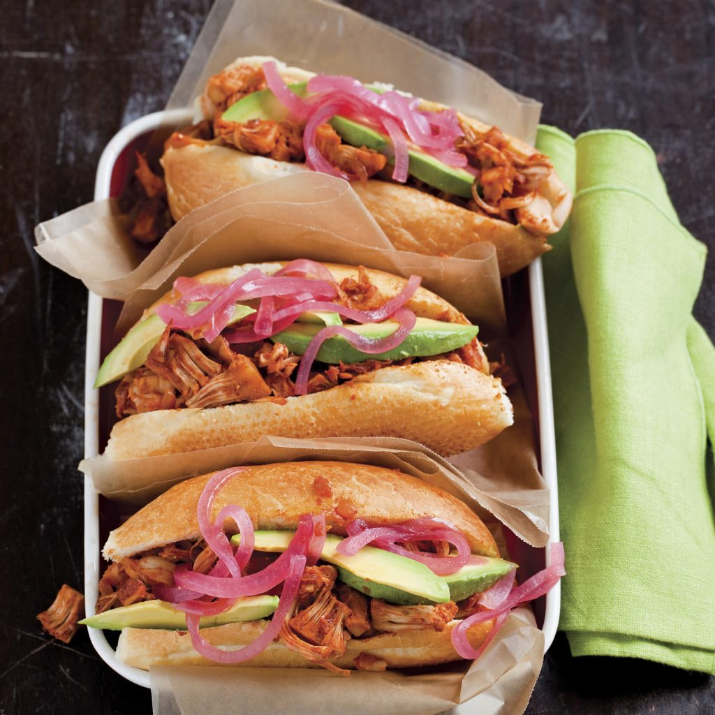 Barbecued Pork Sandwiches With Pickled Red Onion Recipes — Dishmaps