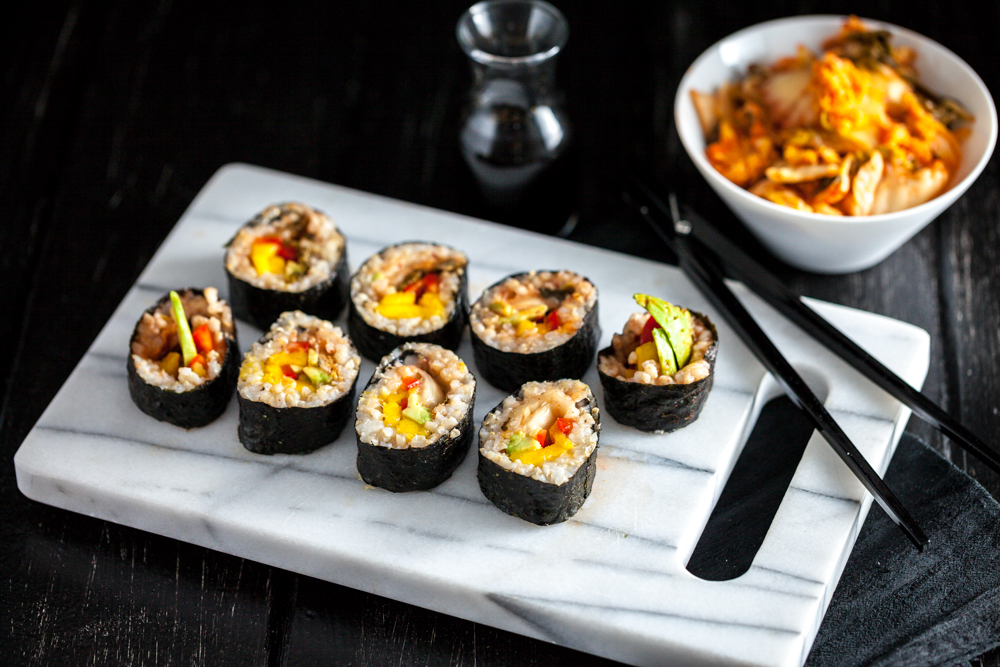 Mango Sushi Roll Recipe — Dishmaps