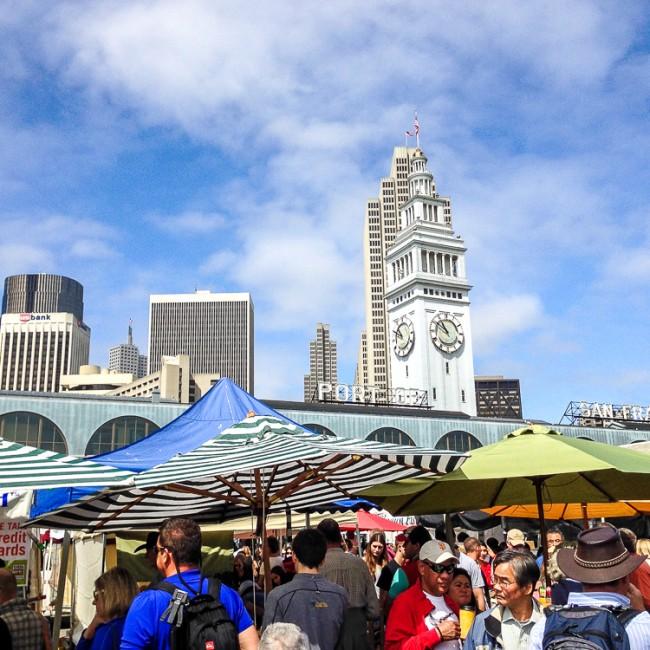 Ferry Building Farmer's Market