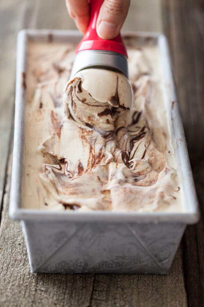 Super Fudgy Marble Fudge Ice Cream