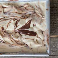 Super Fudgy Marble Fudge Ice Cream