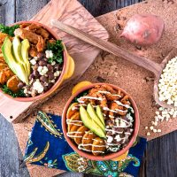 The BBQ Bowl with Zesty Ranch Dressing