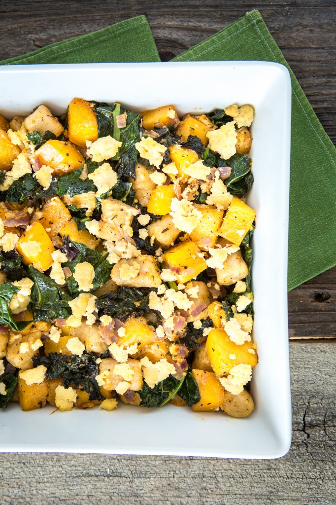 Butternut Squash, Lentil & Kale Salad With Tahini Dressing ...