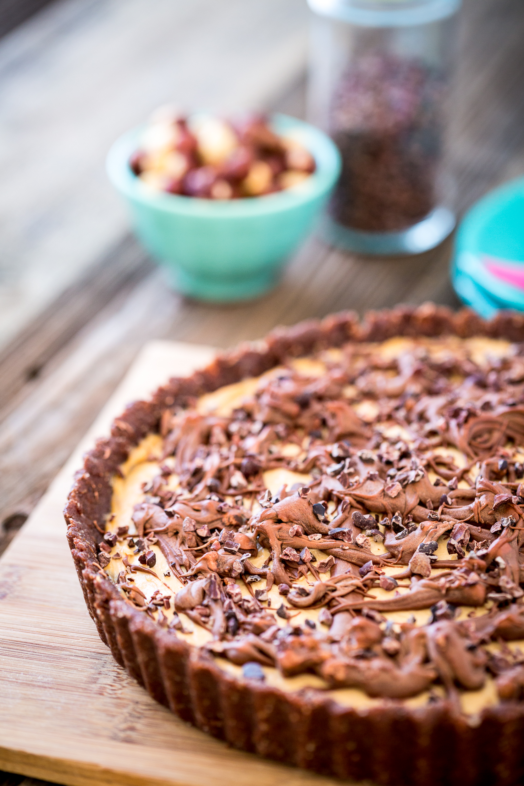 No Bake Chocolate Peanut Butter Tart & Big News!