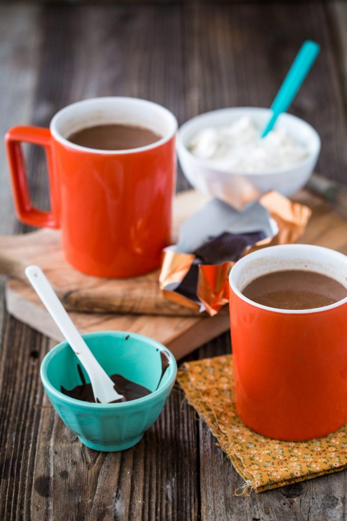 Vegan, Protein-Rich Hot Chocolate with Peanut Butter Whipped Cream