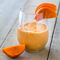 Persimmon Berry Smoothie