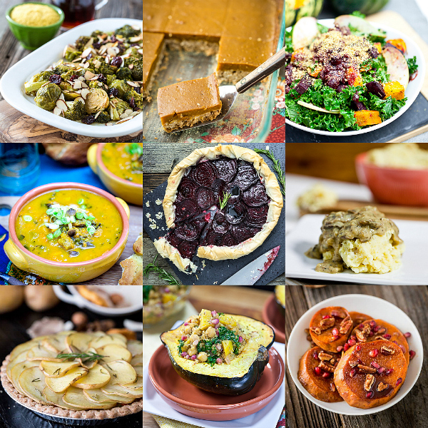 30 Vegan Thanksgiving Recipes And More