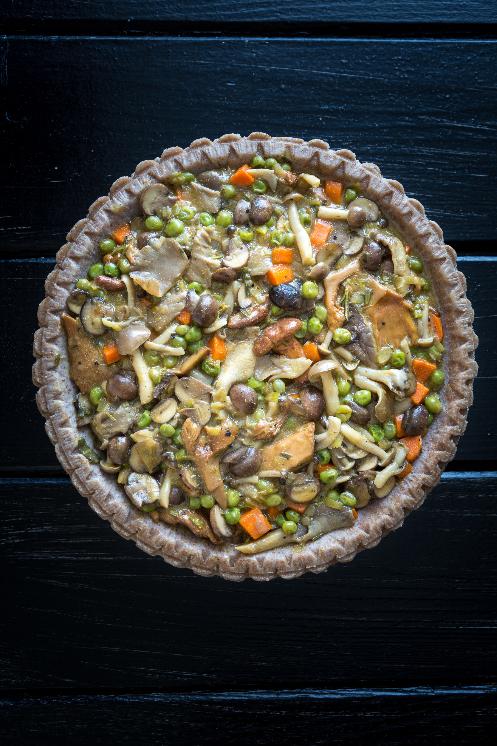 Potato-Mushroom Pie Recipes — Dishmaps