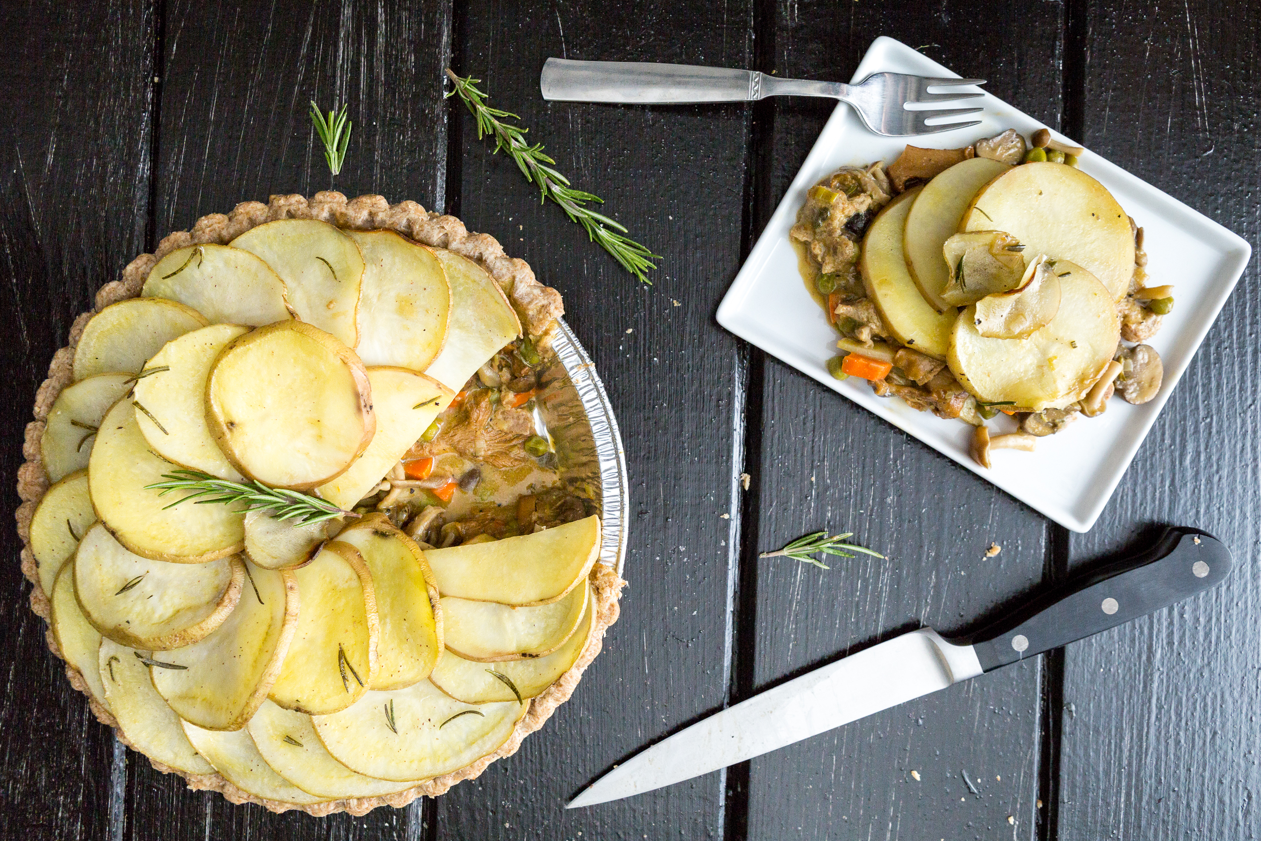 Potato-Mushroom Pie Recipes — Dishmaps