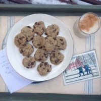 Ashlee's Chai Chocolate Chip Cookies