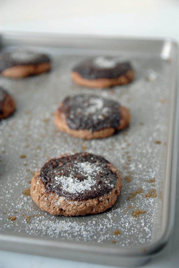 Chocolate Creme Brûlée Cookies