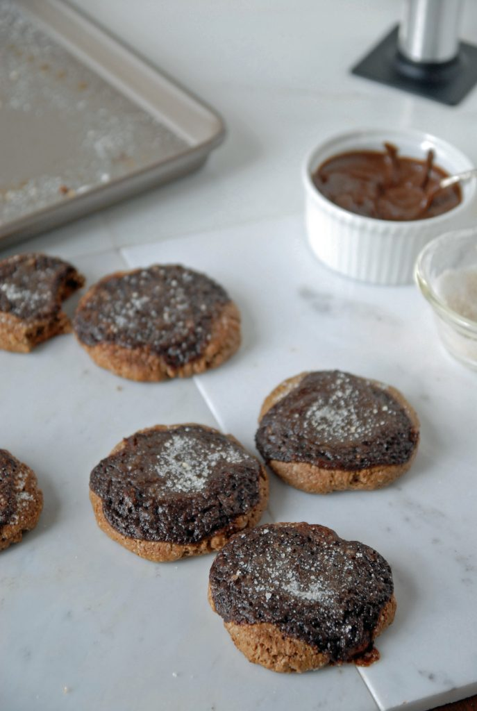 Abby's Chocolate Creme Brûlée Cookies