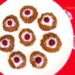 Rebecca's Raspberry Coconut Macaroons