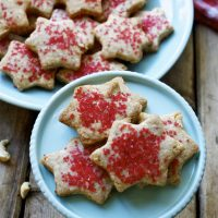 Shira's Vegan Cashew Shortbread Cookies