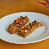 Christy's Mulled Apple Cider Bars