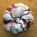 Sarah's Red Velvet Crinkle Cookies