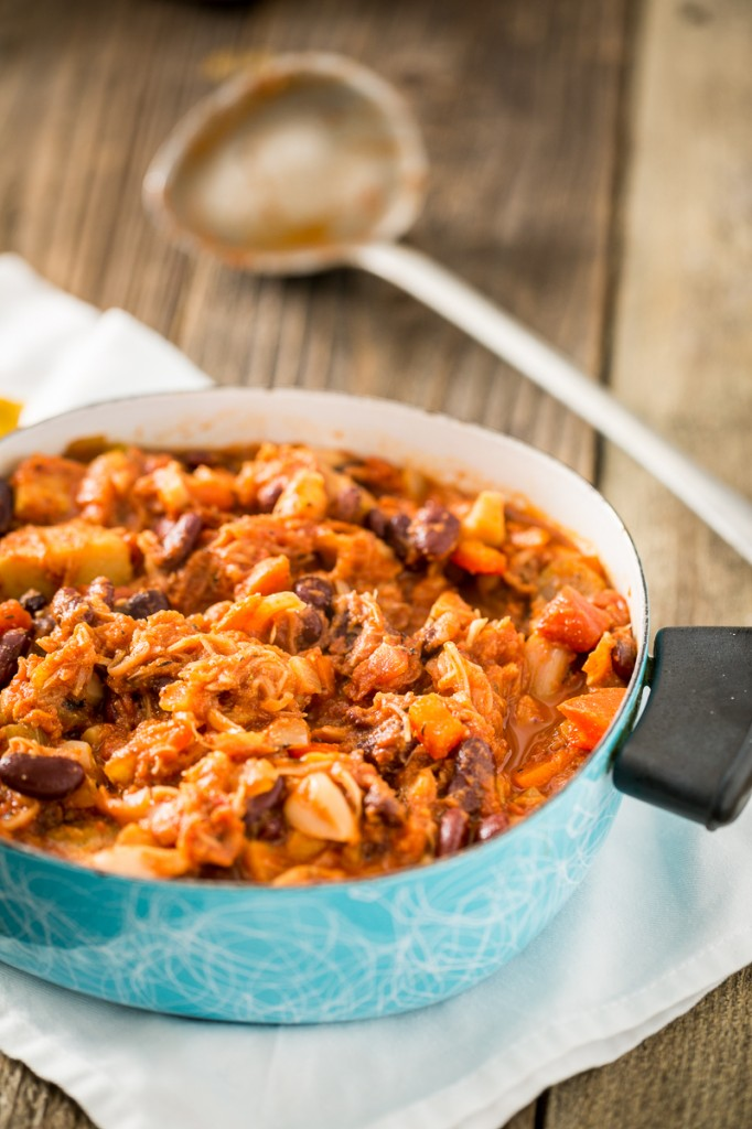 Pulled Jackfruit Chili