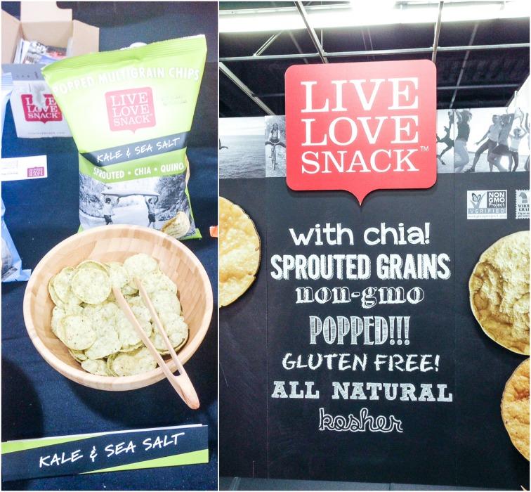 Live Love Snack Kale & Sea Salt Chips