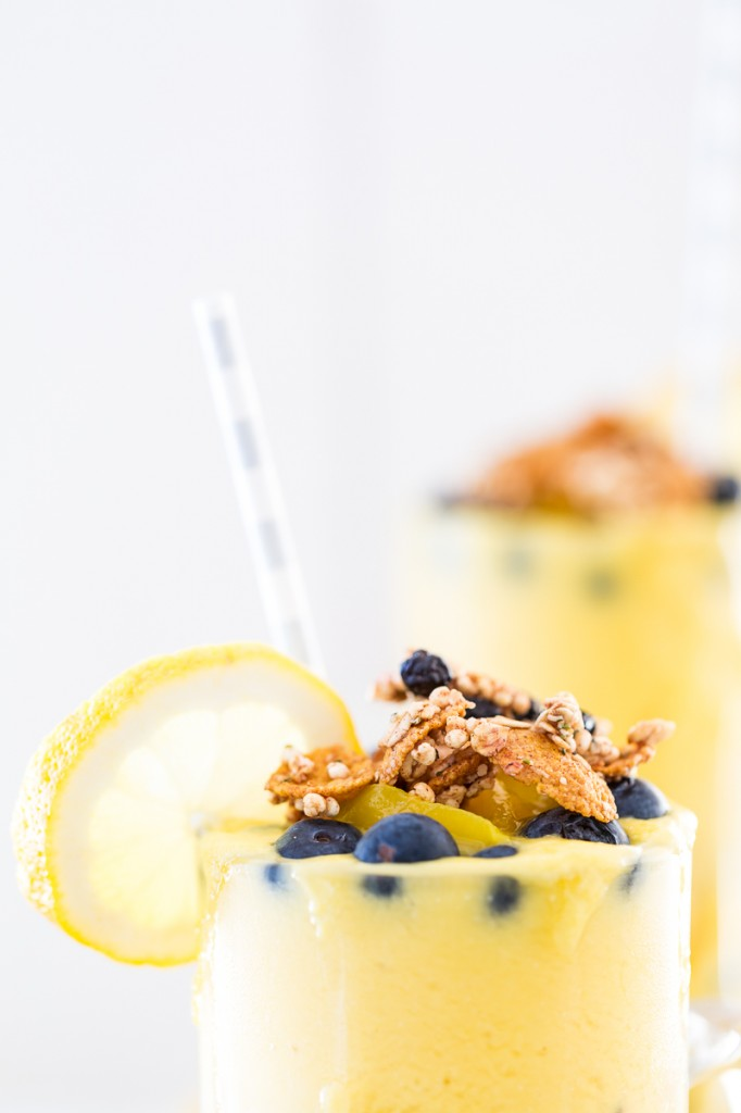 Mango Lemonade Smoothie Parfait + A GIVEAWAY!