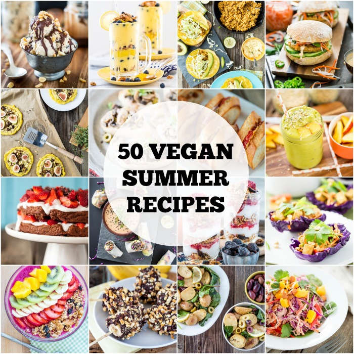 50 Vegan Summer Recipes & A GIVEAWAY!