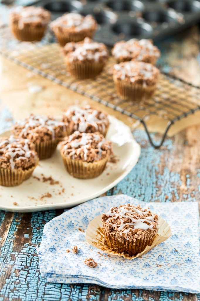 Cinnamon Coffee Cake Muffins + A Review & GIVEAWAY of Decadent Gluten ...