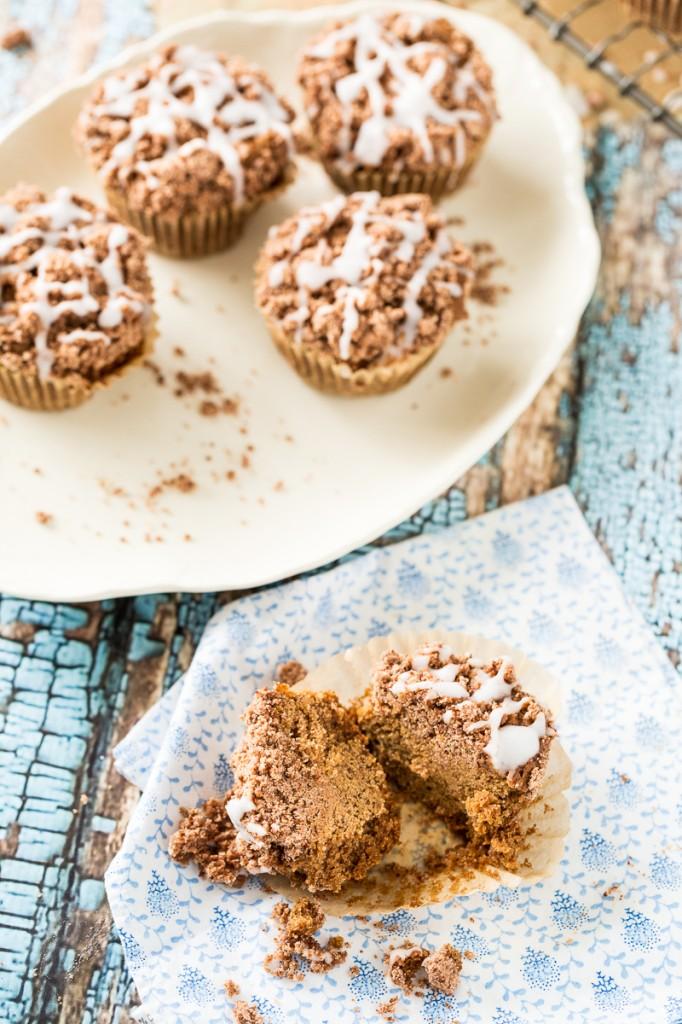 Cinnamon Coffee Cake Muffins