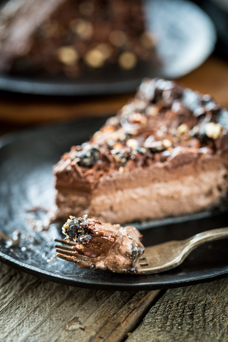 Frozen Mississippi Mud Pie