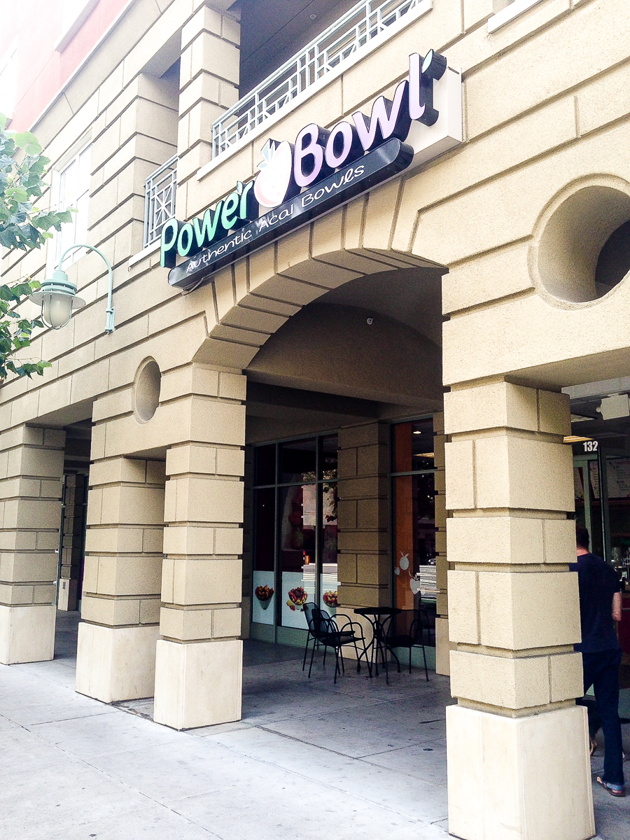 Dining in San Jose: Power Bowl