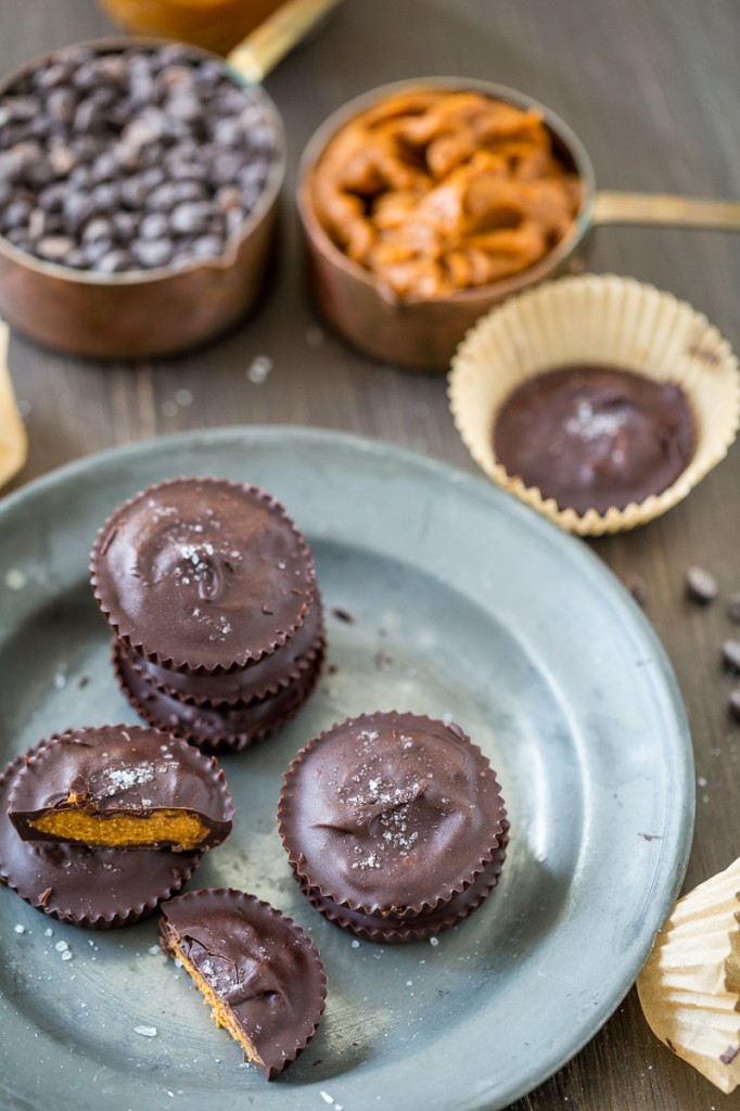 Nut-Free Chocolate Pumpkin Butter Cups