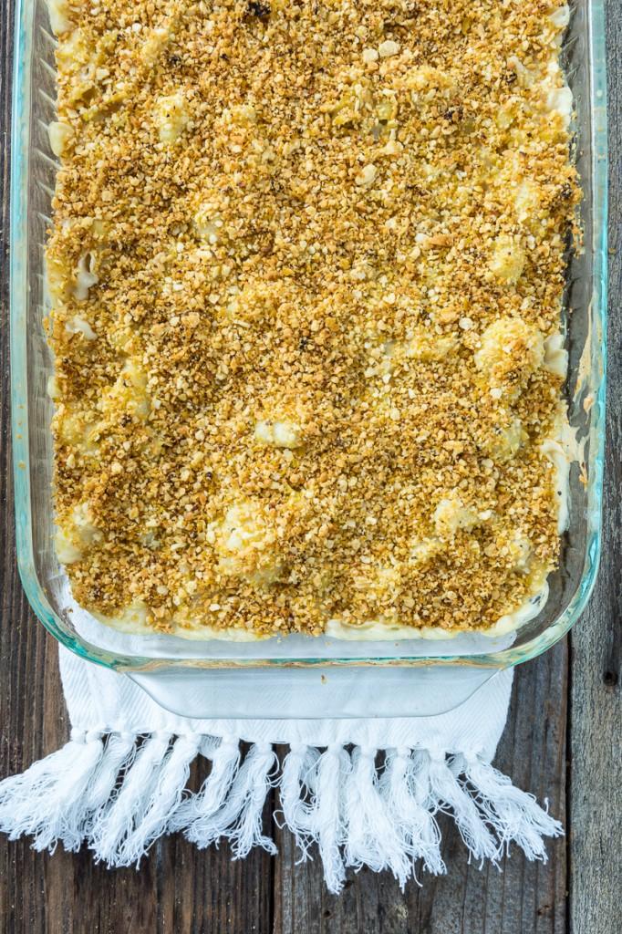 Truffled Cauliflower Mac