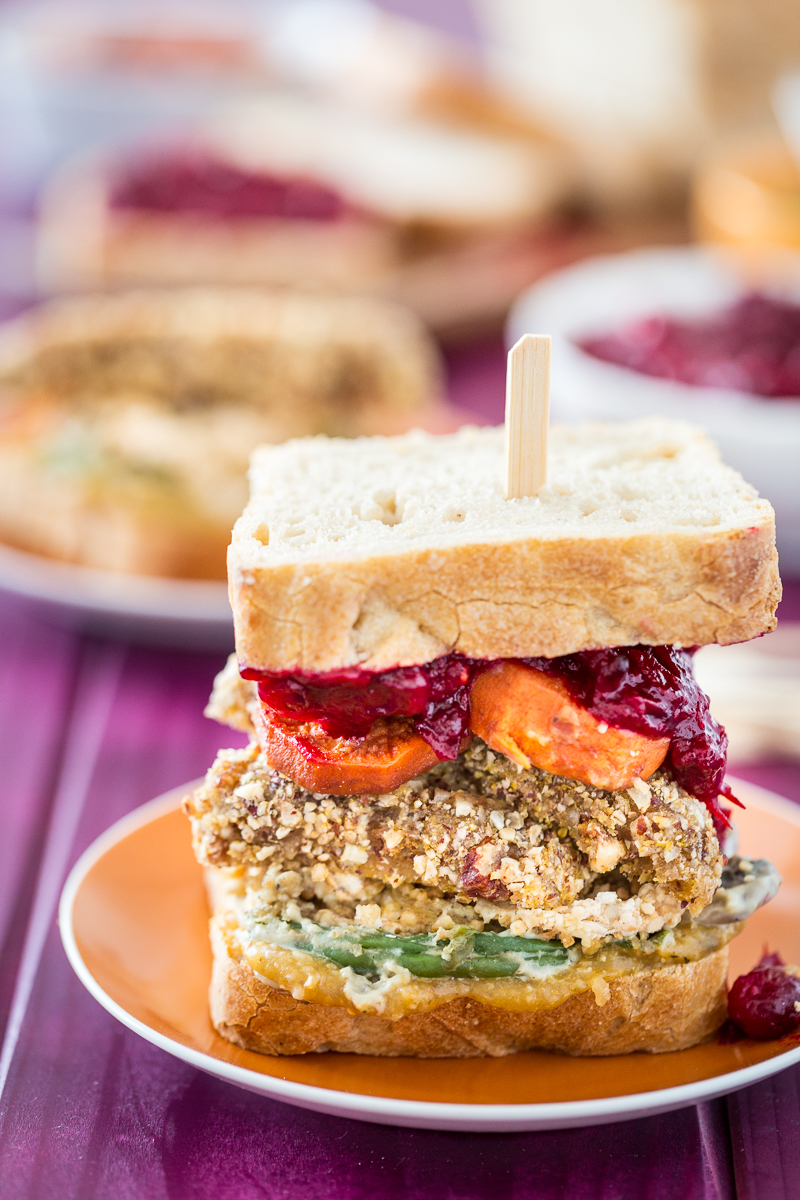 Vegan, Gluten-Free Thanksgiving Leftovers Sandwich + A Special Offer!