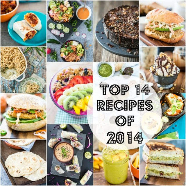 Top 14 Recipes of 2014
