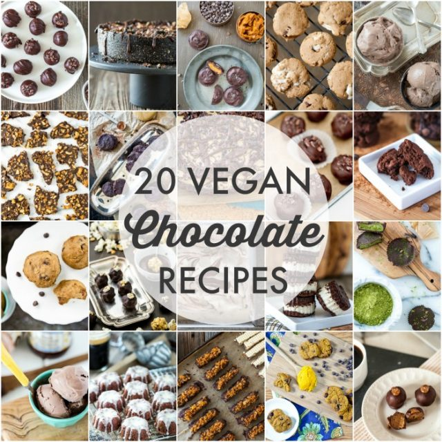 20 Vegan Chocolate Recipes