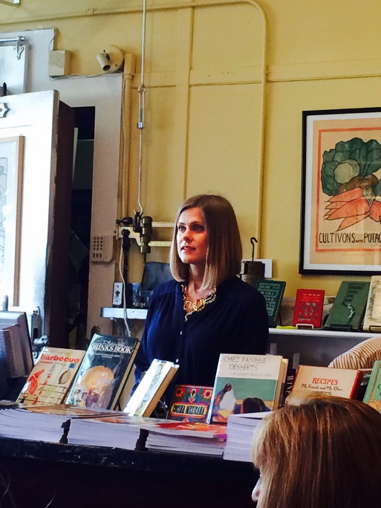 Book Signing at Omnivore Books on Food