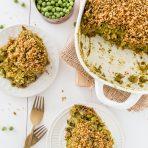 Pumpkin Seed Pesto Rice Casserole