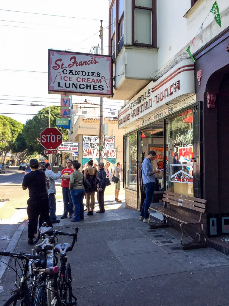 Vegan Dining in San Francisco: St. Francis Fountain