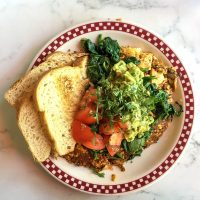 Vegan Dining in San Francisco: St. Francis Fountain