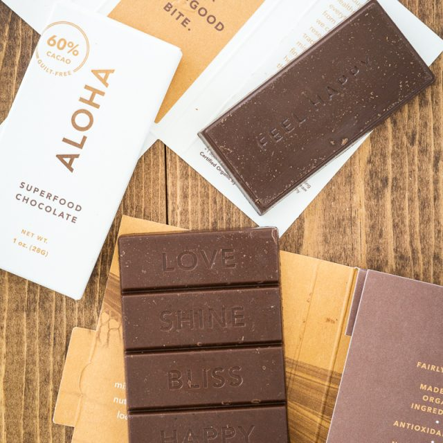 ALOHA Daily Good Greens & Superfood Chocolates: Review & GIVEAWAY!