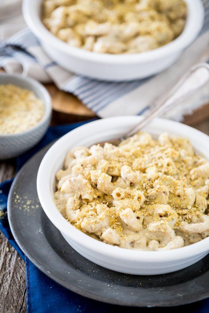 Creamy Mushroom Mac and Cheese