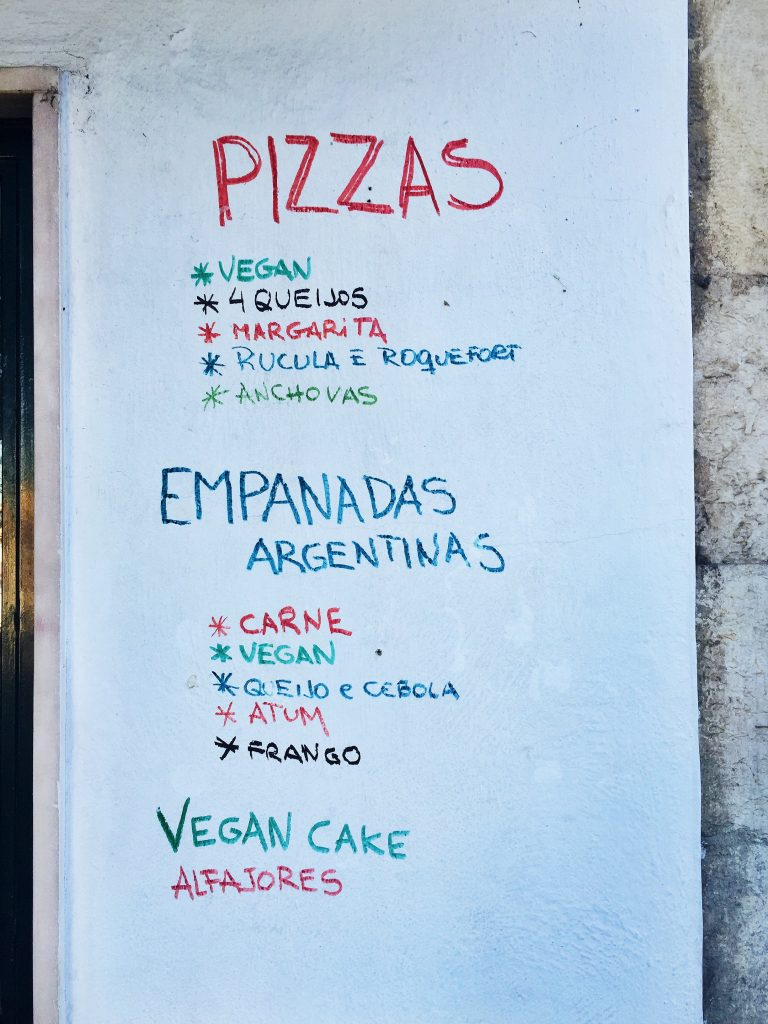 Vegan in Lisbon