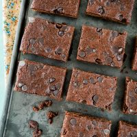Vegan, Gluten-Free Brownies
