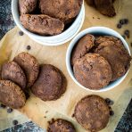 Pumpkin Double Chocolate Chip Cookies
