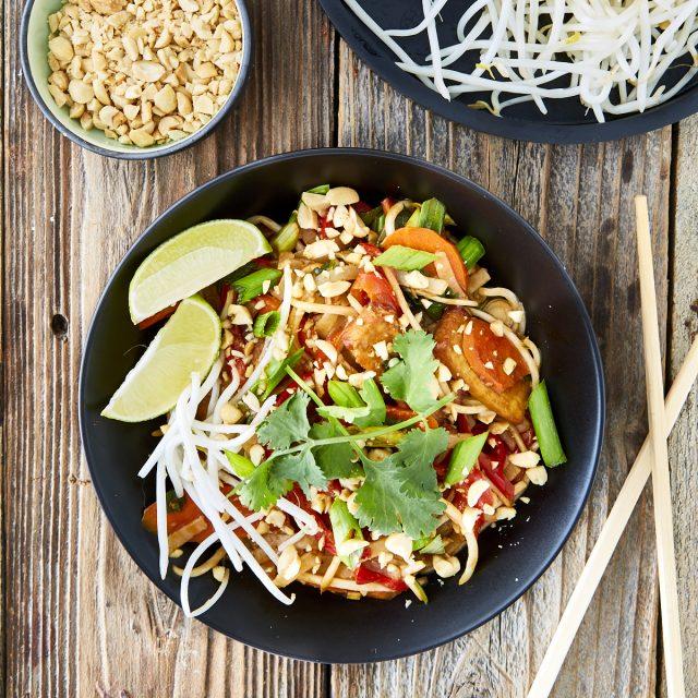 Vegan Tofu Pad Thai