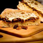 Cheesy Seitan & Mushroom Sandwich