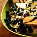 ABC Kale Salad (a.k.a. Apple, Beet & Chèvre Kale Salad)