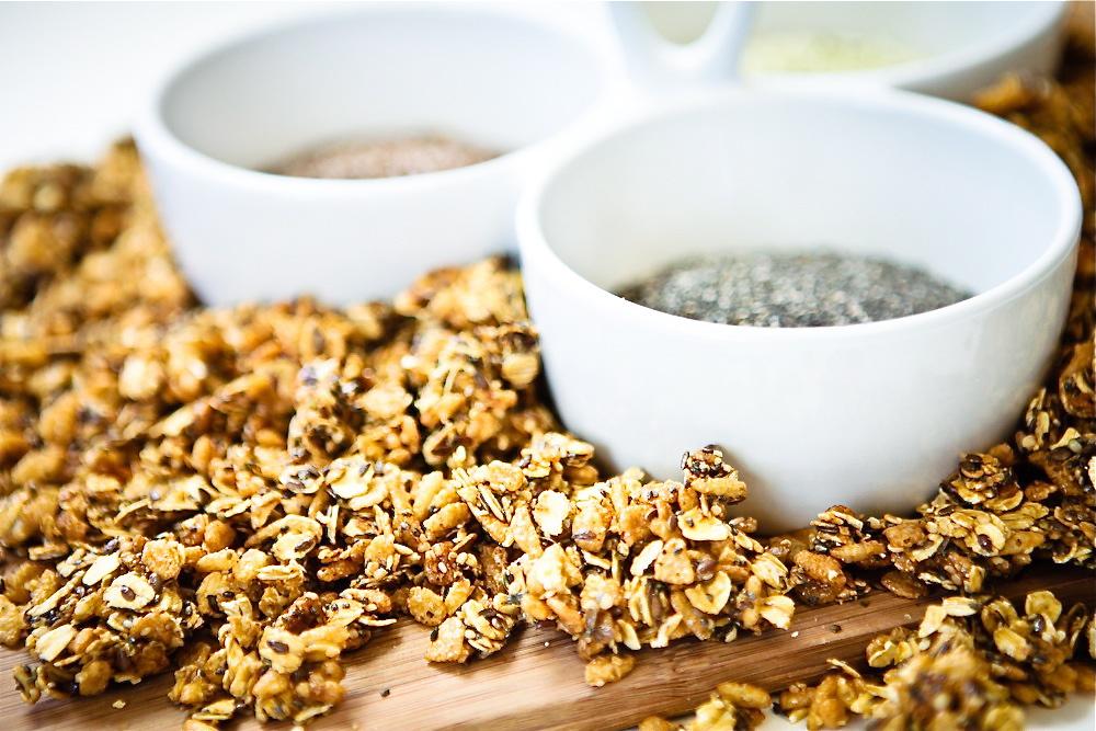 Super Seed Trifecta Granola |