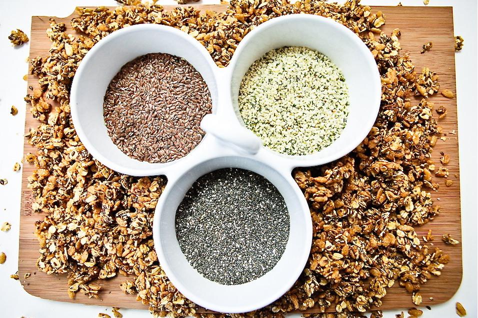 Super Seed Trifecta Granola